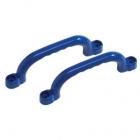 Manere din plastic 25 cm Albastru