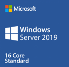 Licenta Windows Server 2019 Standard OEM 1pk DSP OEI DVD 16 core 64 bi