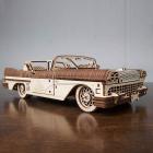 Puzzle 3D Dream Cabriolet VM 05 din lemn Ugears