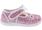 Glitter Sandal In Pink And White