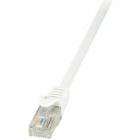 Cablu U UTP EconLine Patchcord Cat 6 3m Alb
