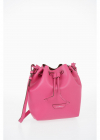 EMPORIO Leather Bucket Bag