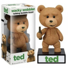 Ted The Movie Ted the Teddy Bear Talking Wacky Wobbler Figure