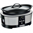 Multicooker Slow cooker 5 7L Digital 220W Negru Argintiu