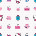 Rola tapet 10 X 0 52m Hello Kitty Fashion TA73499