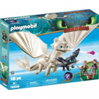 Set de Constructie Light Fury Pui de Dragon si Copii