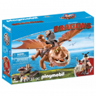 Set de Constructie Dragons Fishlegs Si Meatlug