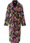 Floral Cotton Trench