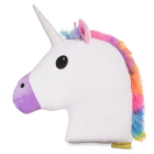Jucarie de Plus Unicorn Perna Multicolor Happy Face