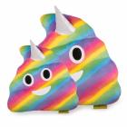 Jucarie de Plus Rahat Unicorn Curcubeu Multicolor Emoji