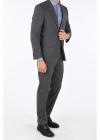 notch lapel pinstriped MATUA 2 button suit