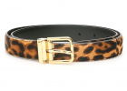 Leopard Print Pony Belt