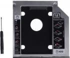 Adaptor HDD Caddy OEM HDD SSD pentru unitati optice de tipul 9 mm