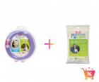 PACHET PROMO Olita portabila culoarea lila Potette Plus Pungi biodegra