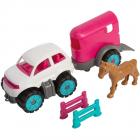 Set Big Power Worker Mini Pony Transporter