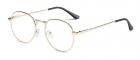 Ochelari Rame cu lentile transparente Harry Potter Semirotund Oval Joh