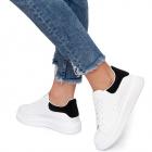 Pantofi sport dama Luno cu sireturi groase Negru
