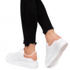 Pantofi sport dama Luno cu sireturi groase Roz