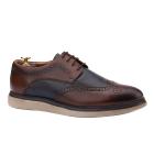 Pantofi casual din piele naturala maro 0108