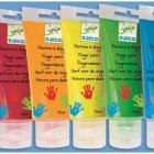 6 culori de pictat cu mana