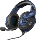 Casti Gaming Trust GXT 488 Forze Blue licenta oficiala PS4