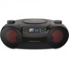 Mini Sistem Boombox 6 12W Black