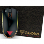 Mouse gaming Zeus E2 Black cu mousepad Nyx E1