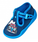 Pantofiori baietei Masina de curse