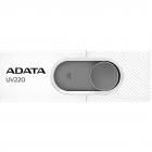 Memorie USB UV220 64GB USB 2 0 White Grey
