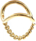 Golden Ring With Chain