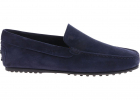 Blue Suede City Gommino Loafers