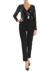 Suit In Black Swith Sequined Top