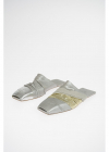 Metallic Leather RUHLMANN HOTEL Slippers