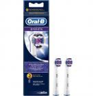 2 buc capete Oral B EB 18 2 3D White