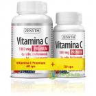 Vitamina C cu Rodie Bioflavoniode si Resveratrol 1000mg Pachet 60cps 3