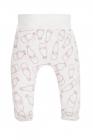 Pantaloni din bumbac pentru bebelusi cu botosei Colectia Milk Girl