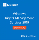 Microsoft CAL Device Windows RMS Rights Management Services 2019 OLP N