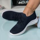 Adidasi Dama Textil Bleumarin Nechi B9055