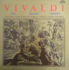 VINIL VIVALDI CONCERTOS FOR FLUTE STRING INSTRUMENTS AND CONTINUO