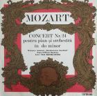 VINIL W A MOZART CONCERT NR 24 PENTRU PIAN SI ORCHESTRA IN DO MINOR
