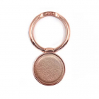 Suport Telefon Inel Ring Metalic Leather Piele Rose Gold