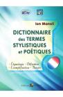 Dictionnaire des termes stylistiques et poetiques Ion Manoli