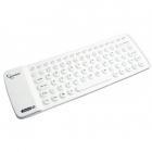 Tastatura KB BTF1 W US Flexibila Bluetooth alba