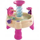 Masuta de joaca roz cu apa Spirala
