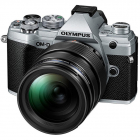 Aparat foto Mirrorless E M5 Mark III 20 4 Mpx Silver Kit 12 40mm F2 8