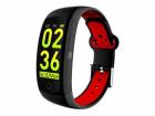 Bratara fitness T FIT 250 GPS negru rosu puls tensiune Trevi