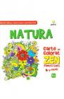 Natura Carte de colorat Zen pentru copii