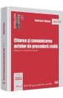 Citarea Si Comunicarea Actelor De Procedura Civila Ed Ii Andreea Tabac