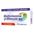 Multivitamine si minerale luteina 56cpr ZDROVIT