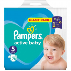Scutece Active Baby 5 Giant Pack 78 buc